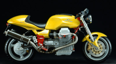 2000 moto guzzi v11 sport; the perfect blend of performance and