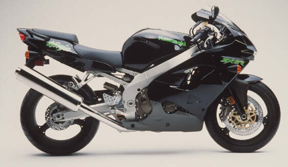 ZX-9R Pearl Purplish Black Mica><br /><b>ZX-9R Pearl Purplish Black Mica</div> <p>These are photos of all four colors (two each) available in the U.S. market for the year 2000 ZX-9R and ZX-6R.  Also, below are the final specifications for both U.S.A. models.<br /> <br /> The 2000 Kawasaki ZX-9R was discussed extensively in an earlier MD article <a href=