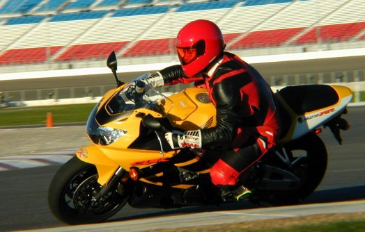 Editor Dirck Edge on the 929RR at Las Vegas Motor Speedway
