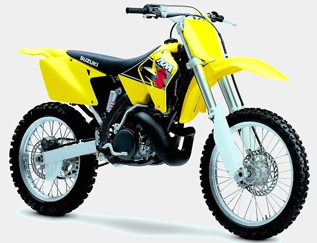2001 suzuki rm motocrossers: completely new 125 and 250