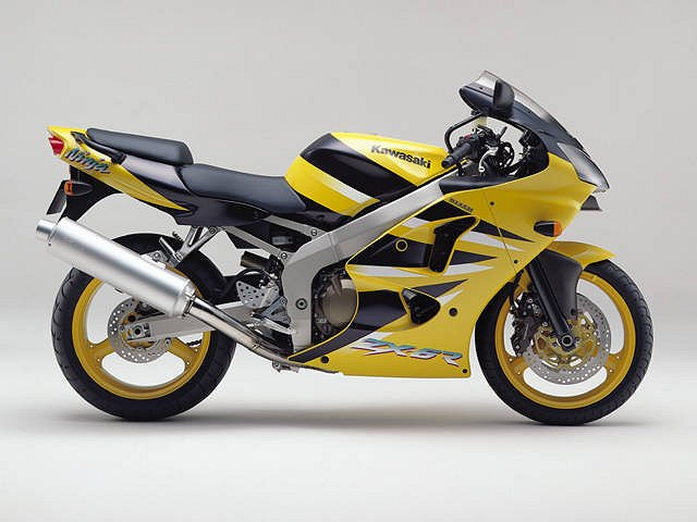 2001 Kawasaki ZX-6R and ZX-9R: Bold New Graphics « MotorcycleDaily