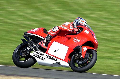Marlboro Yamaha's Max Biaggi