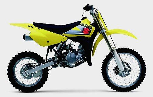 Suzuki's 2002 RM85
