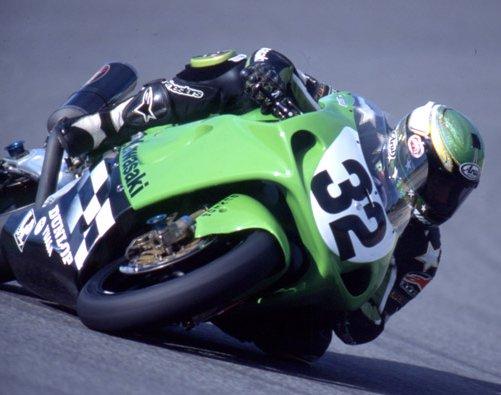 Kawasaki's Eric Bostrom