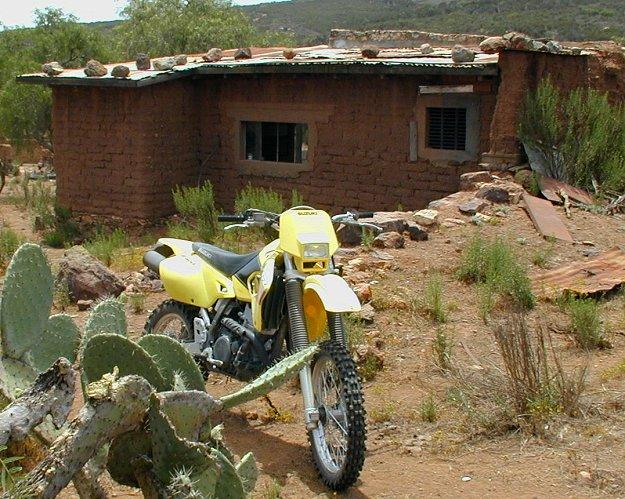 2001 Suzuki DR-Z400E: Baja Test - MotorcycleDaily com