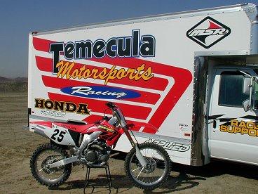 First Ride: 2002 Honda CRF450R - MotorcycleDaily com