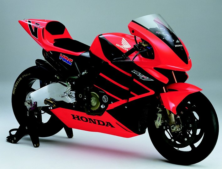 Will Honda Build A V 5 Sportbike Patterned After Its Gp Racer