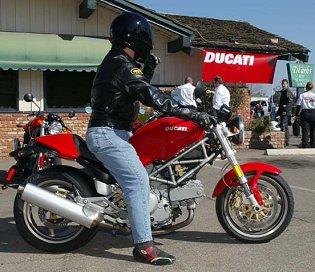 2002 ducati monster 620 i.e.: md riding impression