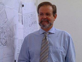 Piaggio Engineer Lucio Masut