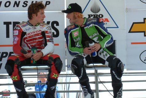 Bostrom and Hayden After the Race