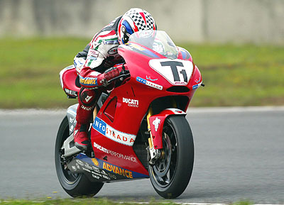 Bayliss And Hodgson Complete First Tests Of New Ducati Race Bikes