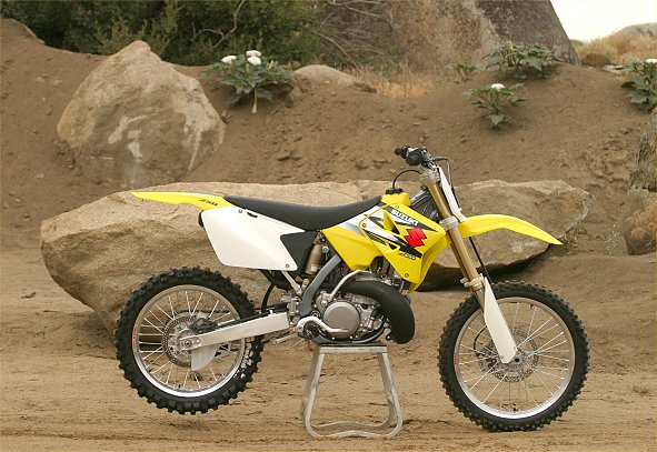 2004 suzuki rm125 and rm250: md first ride « motorcycledaily