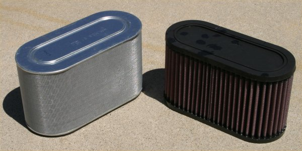Stock Filter vs. K&N Filter