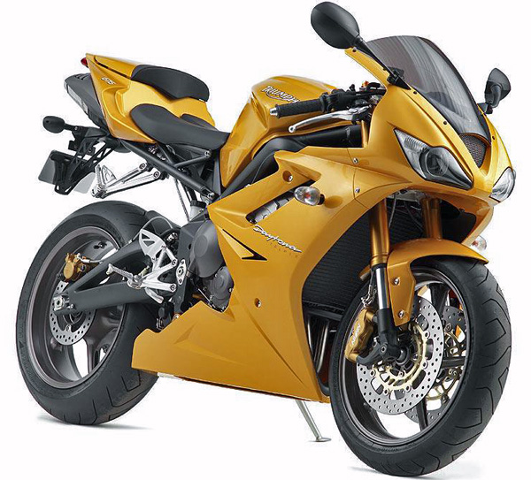 Triumph Daytona 675 Breaks Cover Motorcycledailycom Motorcycle