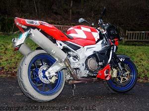 2006 Aprilia Tuono 1000 R - New Italian Thunder