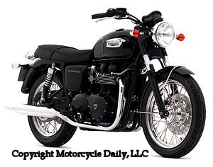md first ride: 2007 triumph bonneville t100 « motorcycledaily