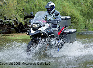 md first ride: 2006 bmw r 1200 gs adventure « motorcycledaily