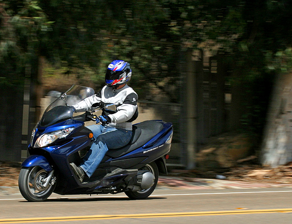 md ride review: 2007 suzuki burgman 400 « motorcycledaily