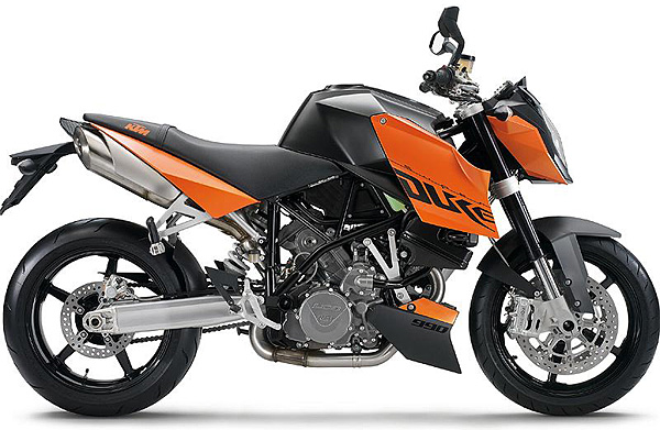 2007 KTM SuperDuke 990 Breaks Cover
