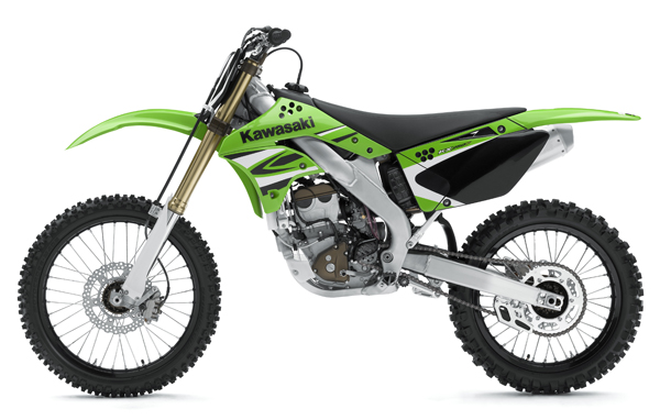 2008 Kawasaki KX250F and KX450F Revealed