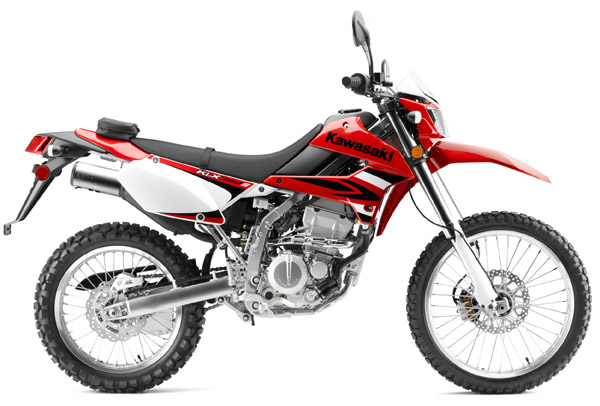 Redesigned 2009 Kawasaki Klx250s Dual Sport