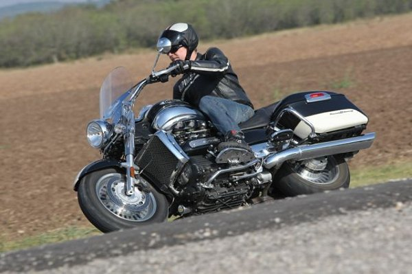 2008 Triumph Rocket Iii Touring Md First Ride Motorcycledailycom