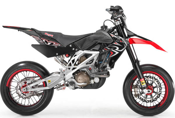 Aprilia Updates SXV 4.5 and 5.5 for 2008 - MotorcycleDaily ...
