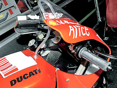 Next Generation Ducati Motogp Bike Features Carbon Fiber Frame