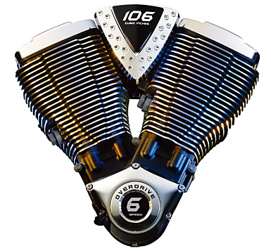 Victory's 106 CI Engine