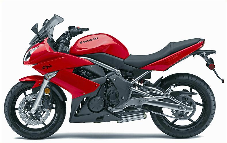 Kawasaki Ninja 650r Gets Redesigned For 2009