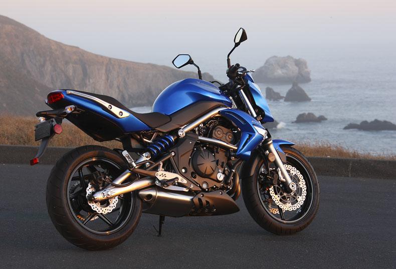 u s market to get distinctive kawasaki er 6n for 2009 motorcycle news. Black Bedroom Furniture Sets. Home Design Ideas