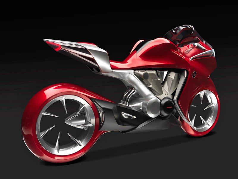 Honda Tries To Generate Buzz With V4 Concept