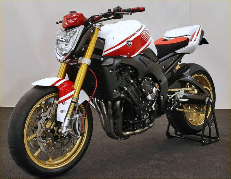 Yamaha Italy Unveils Abarth Assetto Commemorative FZ1