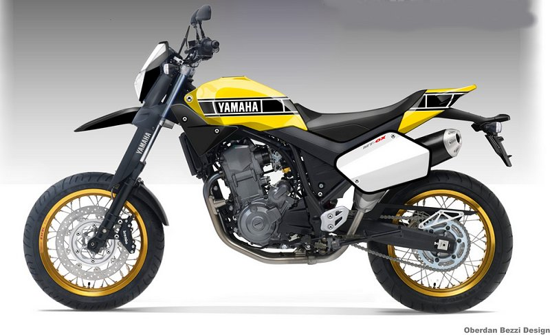 Yamaha MT-02 and MT-OX Concept - MotorcycleDaily com