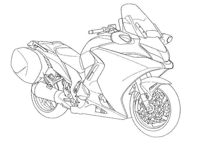 crotch rocket coloring pages - photo#14