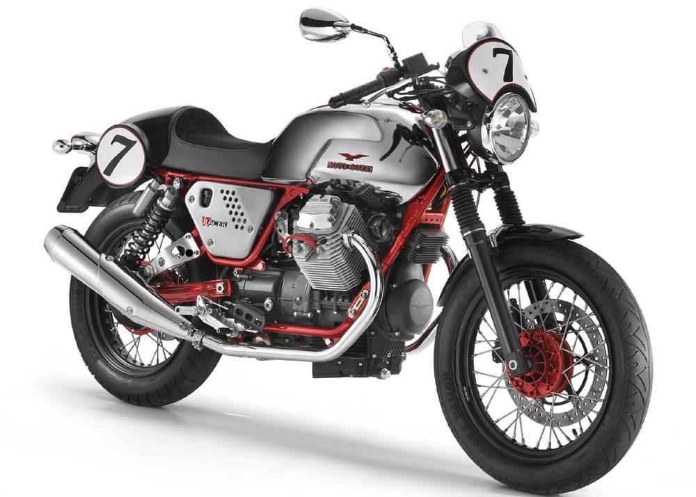 limited edition moto guzzi v7 racer. Black Bedroom Furniture Sets. Home Design Ideas