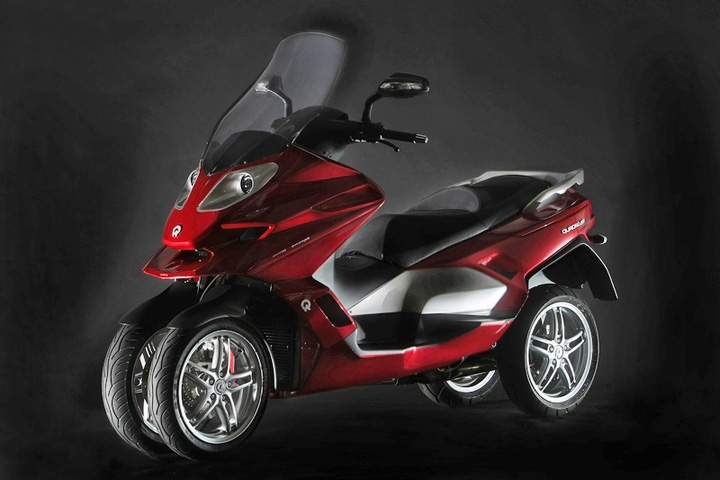 quadro 4d – rides like two wheels, but has traction like four