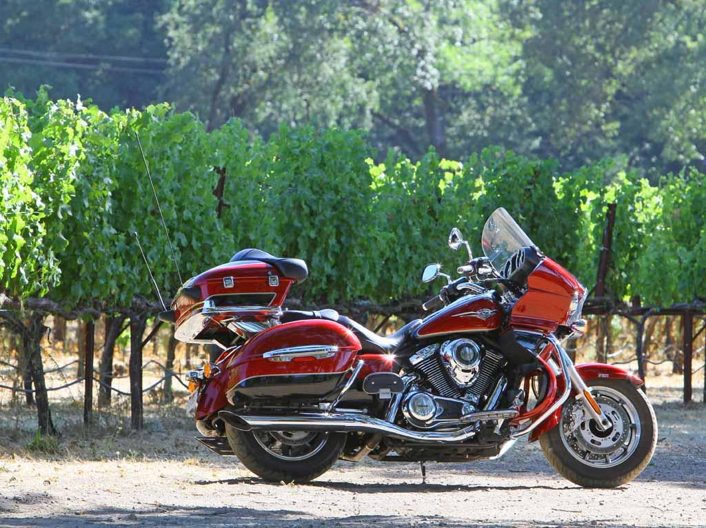Calistoga Run Two Up On Kawasakis Latest Luxury Tourer
