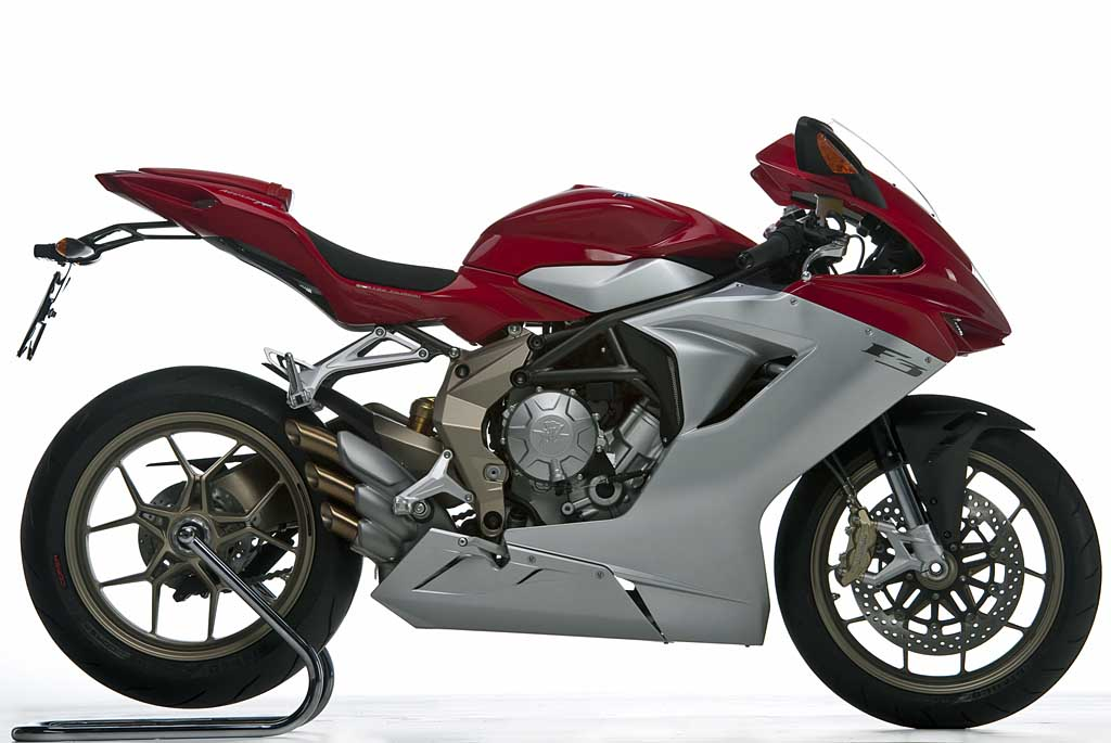 MV Agusta Unveils New F3 675cc Triple