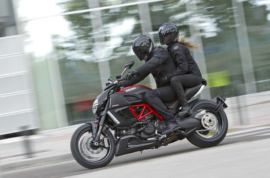 Ducati Diavel Lowered