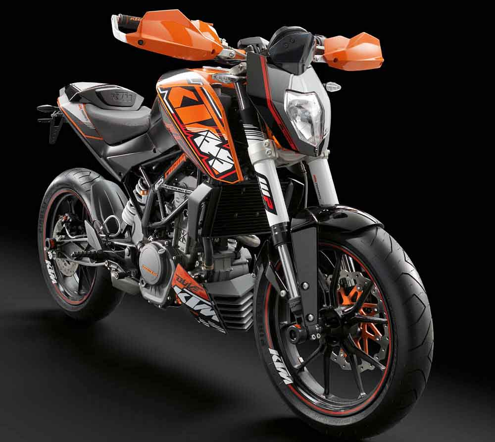 Ktm To Introduce 250 300 Duke For 2012 Motorcycledaily