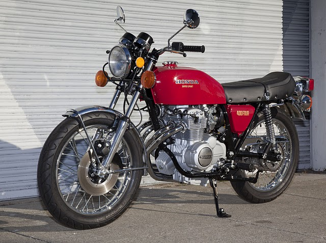 MD Spotlight: Si's 1976 Honda CB400F Supersport ...