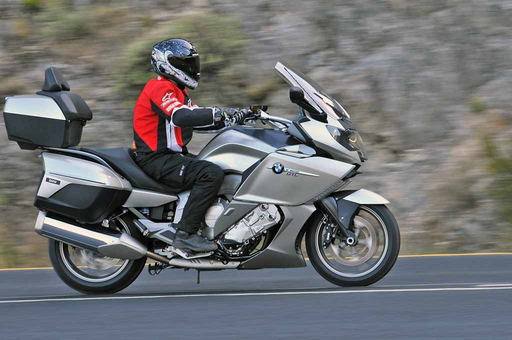 bmw k 1600 gt and gtl: md first ride « motorcycledaily