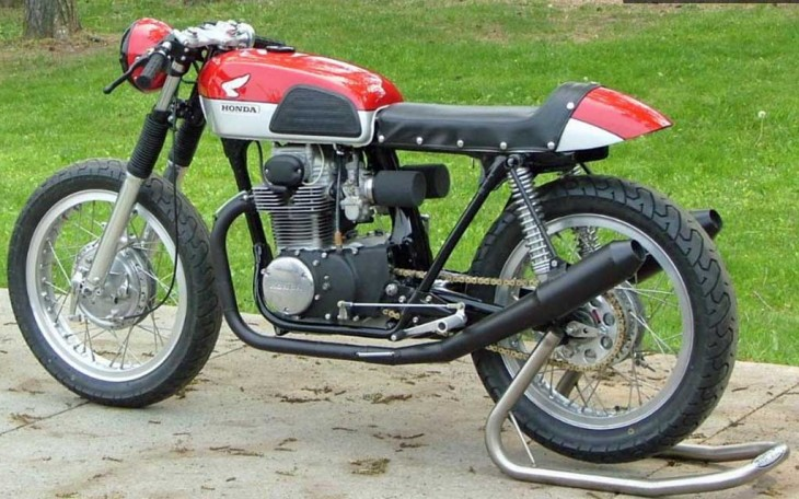 md project honda cb350 cafe racer  part ii 1973 CB750 Wiring-Diagram Honda Rancher 350 Wiring Diagram