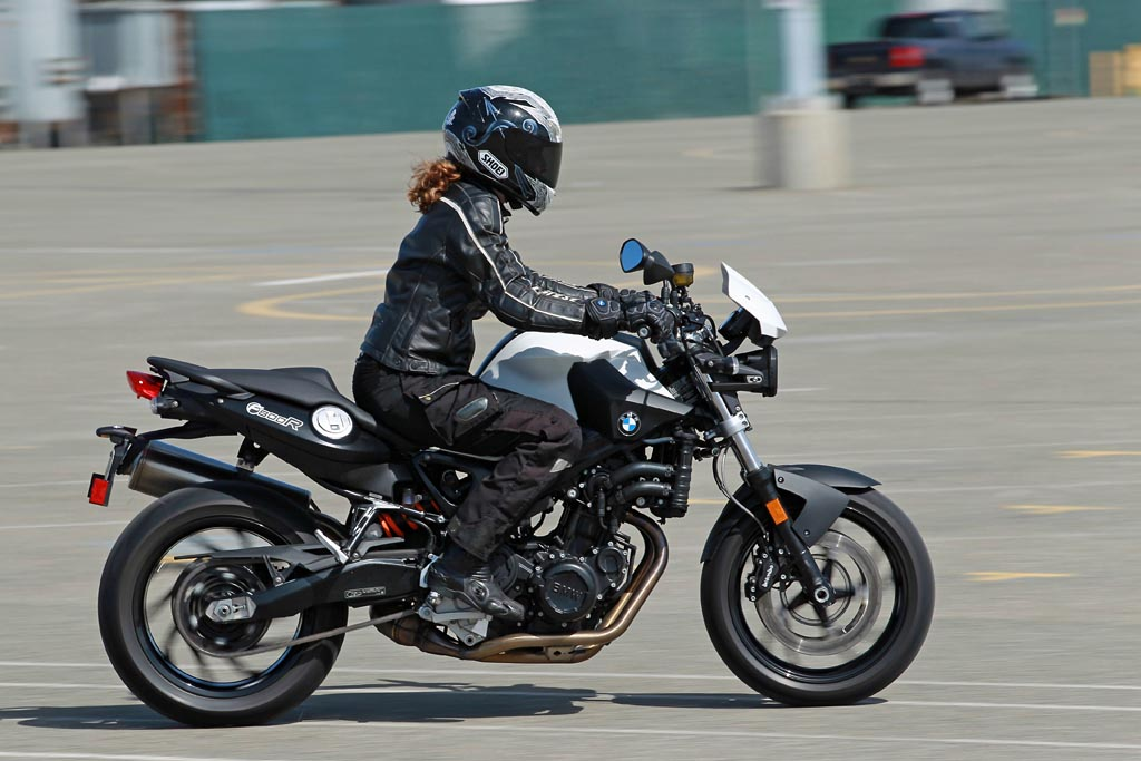 MD Triple Tested 2011 BMW F800R MotorcycleDaily Motorcycle