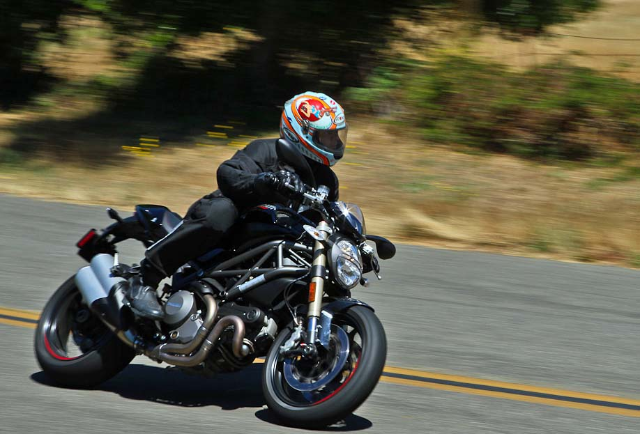 2012 Ducati Monster 1100 Evo Motorcycledaily Com Motorcycle News Editorials Product Reviews And Bike Reviews