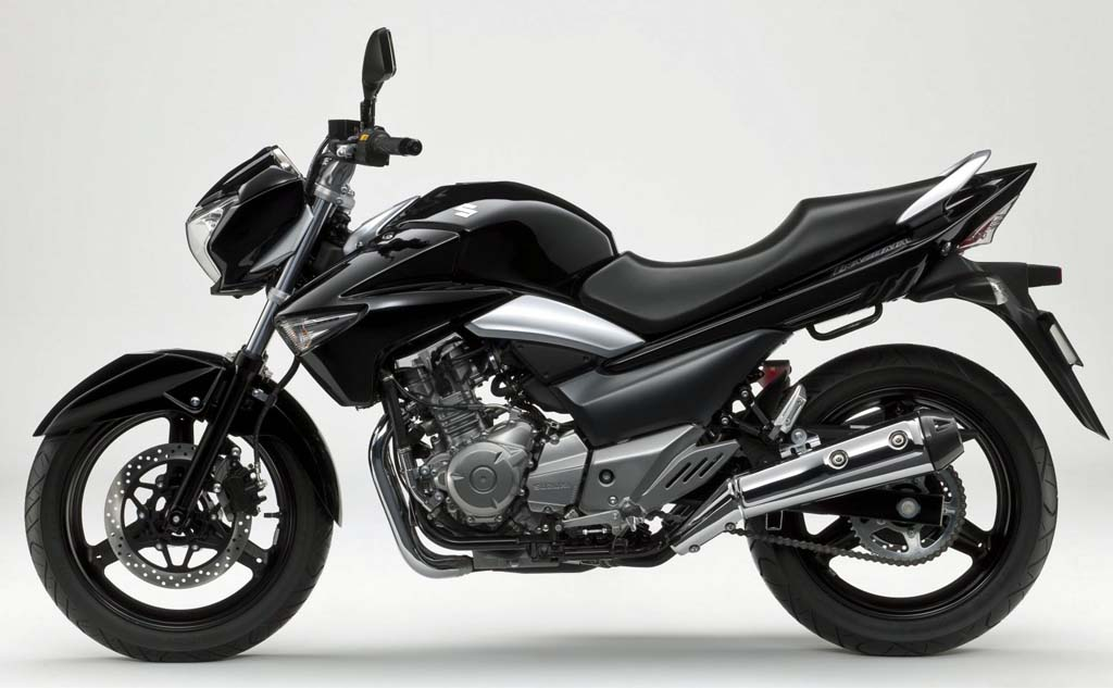 Suzuki Goes After Kawasaki and Honda with Inexpensive Parallel Twin