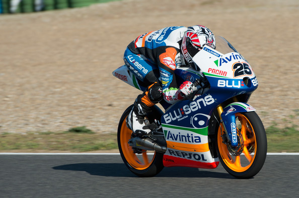 honda and ktm battle closely as moto3 testing ends at jerez