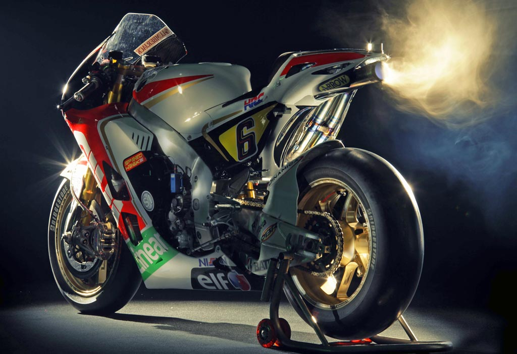 1000cc Honda Moto GP Bike Puts Out More Than 250hp According