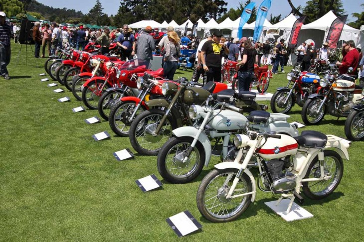 This year's show featured Gary Koh's collection of 32 rare MV Agustas, including the 125 that won at the 1953 Isle of Man.